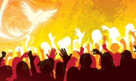 В канун праздника Пятидесятницы (Святой Троицы)