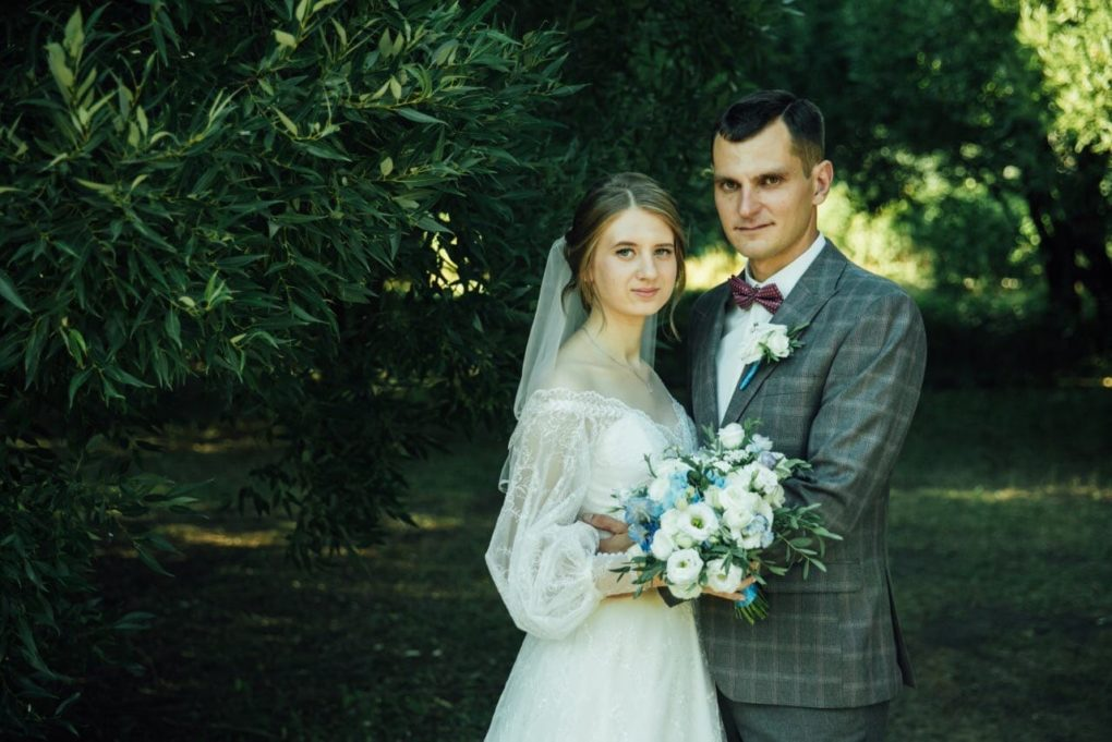 Церемония венчания Егора и Анастасии